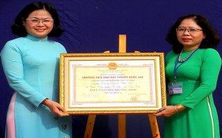 Công nhận Trường tiểu học Phước Đức đạt chuẩn quốc gia mức độ 1