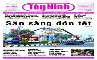Điểm báo in Tây Ninh ngày 14.01.2017