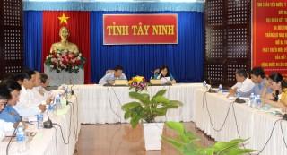 Hội nghị trực tuyến đánh giá công tác lao động, người có công và xã hội
