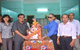 Tây Ninh: Thăm, chúc Tết các đơn vị lực lượng vũ trang tuyến biên giới