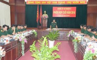 Sư đoàn 5 tổ chức phiên họp cuối năm 2016
