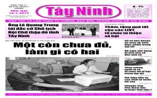Điểm báo in Tây Ninh ngày 16.01.2017