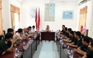 Bệnh viện Quân y 175 thăm, chúc tết Ban Chỉ huy quân sự thành phố Tây Ninh