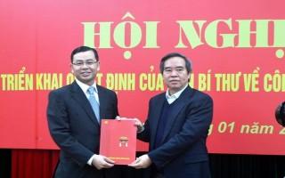 Bổ nhiệm ông Ngô Văn Tuấn làm Phó Ban Kinh tế TƯ