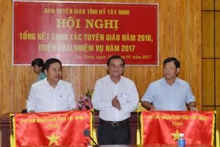 Tây Ninh: Tổng kết công tác tuyên giáo năm 2016