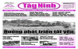 Điểm báo in Tây Ninh ngày 18.01.2017