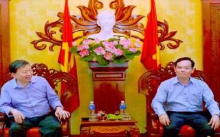 Tiếp Bộ trưởng Bộ Công an và đại diện các tôn giáo đến chúc tết