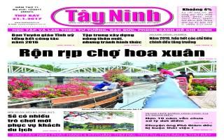 Điểm báo in Tây Ninh ngày 21.01.2017
