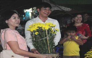 Khai mạc Chợ Hoa xuân Thành phố Tây Ninh