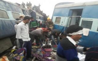 Tàu hỏa trật đường ray tại Ấn Độ, hơn 100 người thương vong