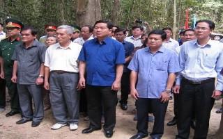 Bí thư Thành ủy TP.HCM viếng bia tưởng niệm liệt sĩ Đài phát thanh Giải phóng