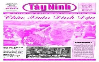 Điểm báo in Tây Ninh ngày 25.01.2017