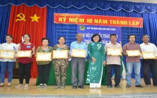 Đại hội Đại biểu thành viên thường niên Quỹ TDND Châu Thành