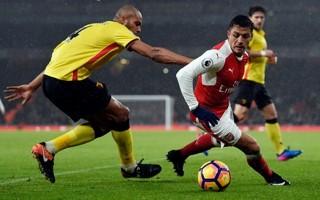 Thua đau Watford, Arsenal mất ngôi nhì Premier League