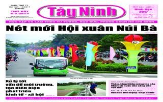 Điểm báo in Tây Ninh ngày 04.02.2017