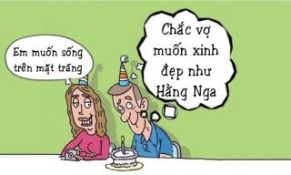Chồng bất ngờ trước điều ước sinh nhật vợ