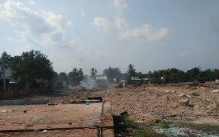 Đốt rác gây náo loạn khu dân cư