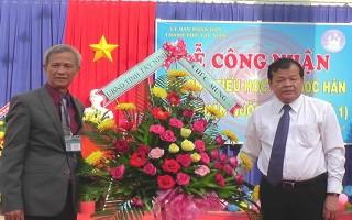 Công nhận Trường tiểu học Lê Ngọc Hân đạt chuẩn quốc gia