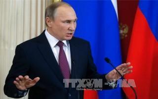 Tổng thống Nga phê chuẩn thỏa thuận 'Dòng chảy Thổ Nhĩ Kỳ'