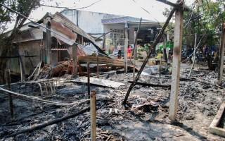 Hỏa hoạn thiêu rụi một căn nhà