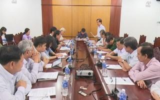 Kiểm tra công tác chuẩn bị đăng cai Giải bóng chuyền nữ quốc tế Cup VTV9 - Bình Điền