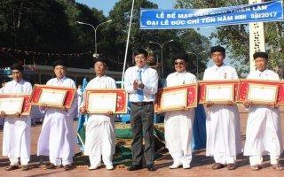 Hội Thánh Cao Đài Tây Ninh tổ chức bế mạc Đại lễ Đức Chí Tôn