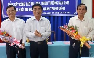 Khối thi đua các cơ quan Trung ương tổng kết công tác thi đua khen thưởng năm 2016