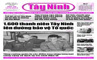 Điểm báo in Tây Ninh ngày 15.02.2017