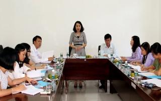 Trung ương Đoàn TNCS Hồ Chí Minh làm việc với Tỉnh đoàn Tây Ninh về công tác tổ chức Đại hội Đoàn
