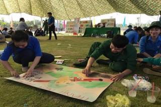 """Nhiều hoạt động ý nghĩa trong Hội trại """"Tuổi trẻ tòng quân"""" thành phố Tây Ninh"""