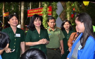 Sôi nổi Hội trại Tuổi trẻ tòng quân năm 2017