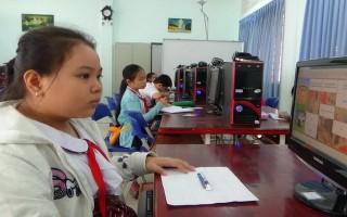 Thành phố tổ chức hội thi Giải toán bằng tiếng Anh qua internet