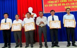 Đảng uỷ Khối các cơ quan tỉnh: Tổng kết công tác xây dựng Đảng năm 2016