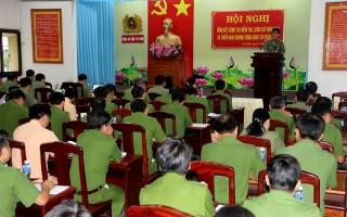 Đảng ủy Công an Tây Ninh tổng kết công tác kiểm tra, giám sát năm 2016