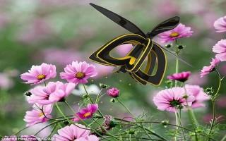Kinh ngạc với ong robot có thể thụ phấn cho hoa