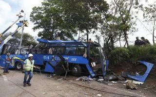 Tai nạn xe buýt kinh hoàng ở Philippines, ít nhất 54 người thương vong
