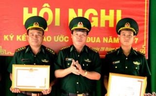 Chủ tịch UBND tỉnh Tây Ninh khen thưởng đột xuất Đồn BP Kà Tum