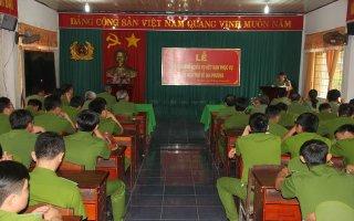 Công an Tây Ninh: Tiễn 71 chiến sĩ nghĩa vụ hết hạn phục vụ trở về địa phương