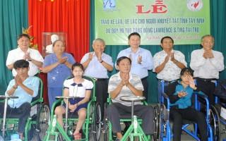 Tây Ninh: Vận động hơn 9 tỷ đồng hỗ trợ người bệnh nghèo