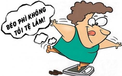 Bí quyết giải sầu của phụ nữ béo