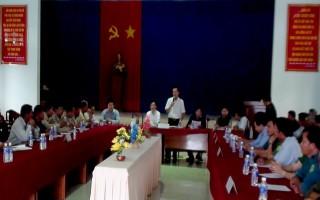 Cụm 3 xã biên giới huyện Bến Cầu tổ chức đối ngoại nhân dân biên giới
