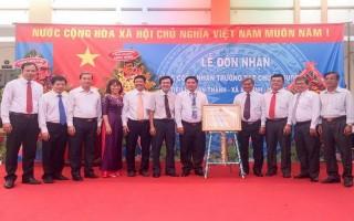 Thêm 2 trường học ở Trảng Bàng được công nhận đạt chuẩn quốc gia