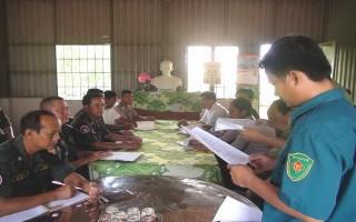 Đồn Biên phòng Phước Chỉ: Hội đàm với các lực lượng bảo vệ biên giới Campuchia