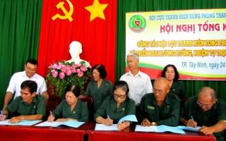Hội Cựu TNXP TP.Tây Ninh tổng kết công tác Hội năm 2016