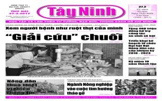 Điểm báo in Tây Ninh ngày 27.02.2017