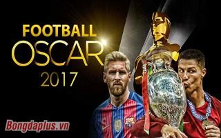 Oscar 2017 trong bóng đá
