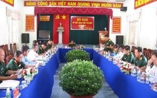 Ban CHQS các huyện biên giới ký kết giao ước thi đua