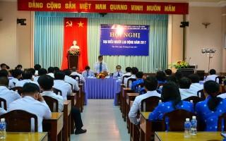 Trung tâm Kinh doanh VNPT Tây Ninh tổ chức Hội nghị người lao động năm 2017