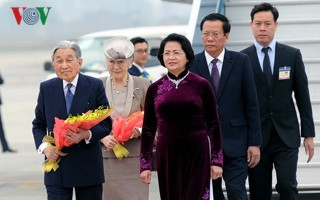 Chủ tịch nước chủ trì lễ đón chính thức Nhà vua Nhật Bản và Hoàng hậu