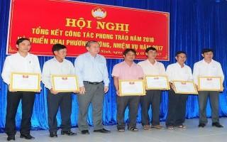UBMTTQ Việt Nam tỉnh Tây Ninh: Tổng kết công tác phong trào năm 2016